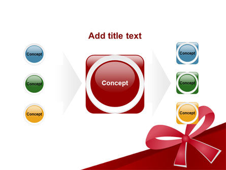 Happy Birthday Bow PowerPoint Template Slide 17