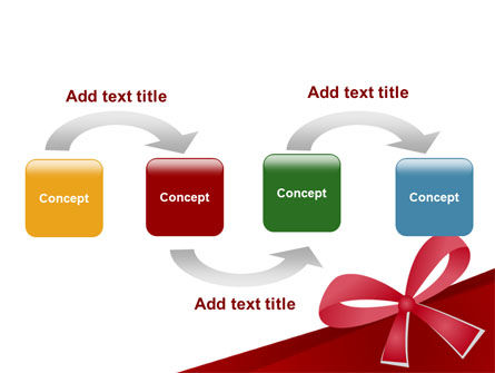 Happy Birthday Bow PowerPoint Template Slide 4