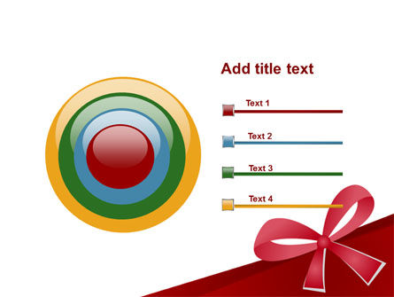 Happy Birthday Bow PowerPoint Template Slide 9