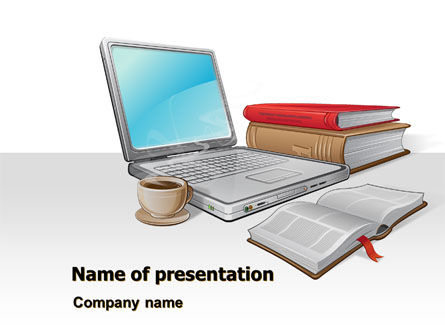 Business: E-Learning PowerPoint Template #07661