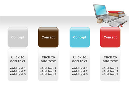 E-Learning PowerPoint Template Slide 5