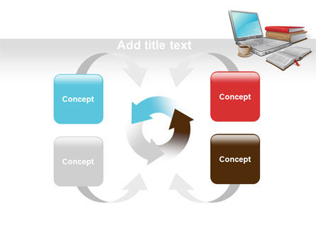 E-Learning PowerPoint Template Slide 6