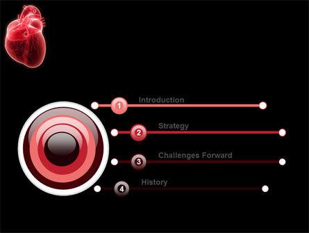 Model Of Heart PowerPoint Template, Slide 3, 07662, Medical — PoweredTemplate.com