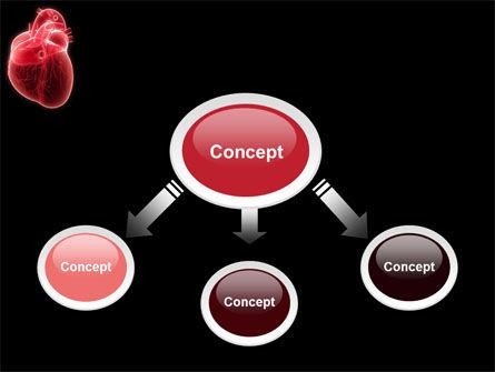 Model Of Heart PowerPoint Template, Slide 4, 07662, Medical — PoweredTemplate.com