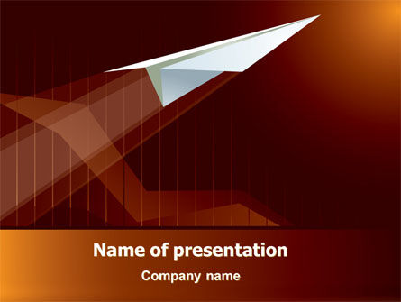Flying Up PowerPoint Template