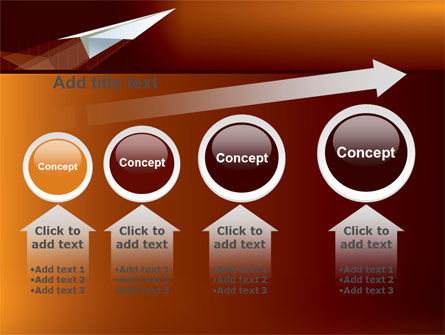 Flying Up PowerPoint Template Slide 13
