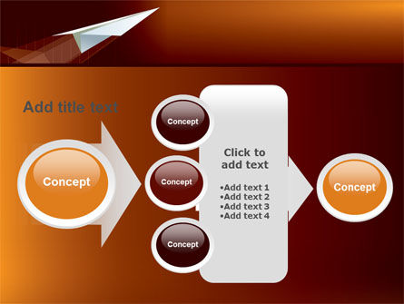 Flying Up PowerPoint Template Slide 17