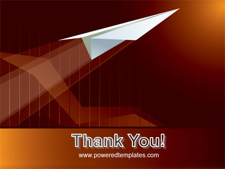 Flying Up PowerPoint Template Slide 20