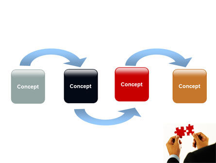 Adding Pieces PowerPoint Template Slide 4