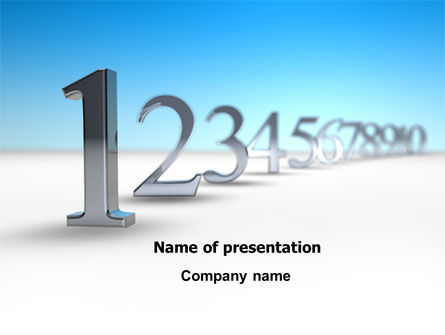 Business Concepts: Precedence PowerPoint Template #07666