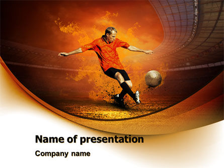 World Cup Of FIFA PowerPoint Template, 07668, Sports — PoweredTemplate.com