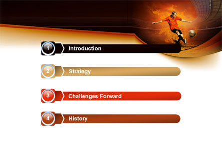 World Cup Of FIFA PowerPoint Template, Slide 3, 07668, Sports — PoweredTemplate.com