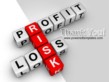 Profit and Risk PowerPoint Template Slide 20