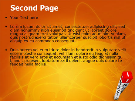 Innovations Tower PowerPoint Template Slide 2