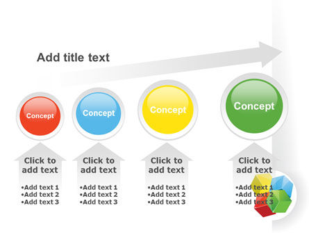 Color Blocks PowerPoint Template Slide 13