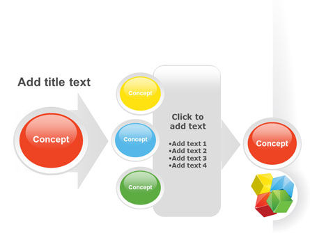 Color Blocks PowerPoint Template Slide 17