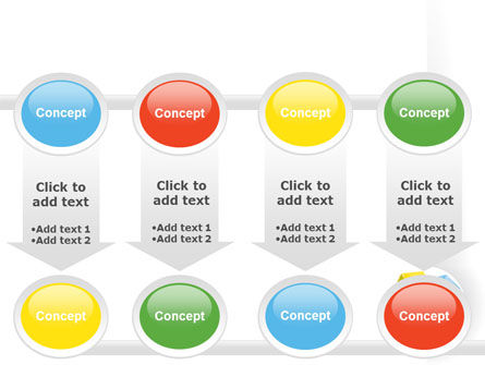 Color Blocks PowerPoint Template Slide 18