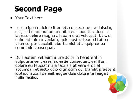 Color Blocks PowerPoint Template, Slide 2, 07673, Education & Training — PoweredTemplate.com