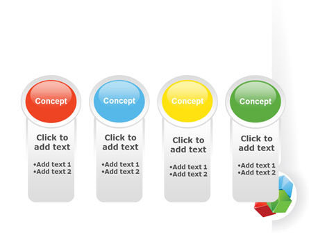 Color Blocks PowerPoint Template Slide 5