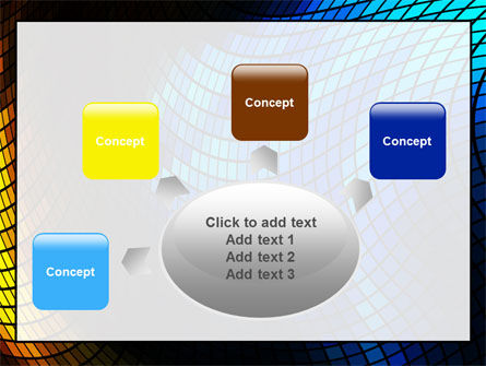 Abstract Mosaic PowerPoint Template Slide 7