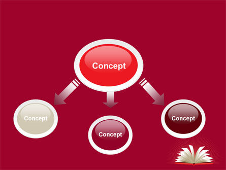 Open Book At The Table PowerPoint Template, Slide 4, 07675, Education & Training — PoweredTemplate.com