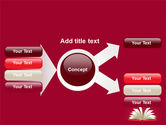Open Book At The Table PowerPoint Template#14