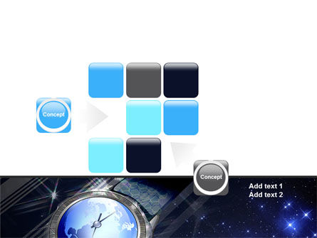 Global Watch PowerPoint Template Slide 16