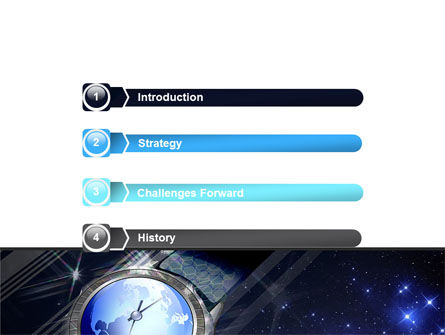 Global Watch PowerPoint Template, Slide 3, 07676, Business — PoweredTemplate.com