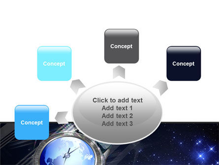 Global Watch PowerPoint Template Slide 7