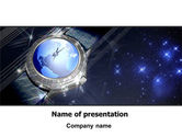 Business: Global Watch PowerPoint Template #07676
