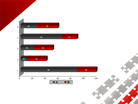 Red Jigsaw Theme PowerPoint Template Slide 11