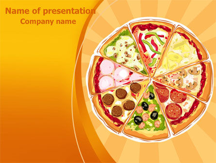Food & Beverage: Pizza PowerPoint Template #07678