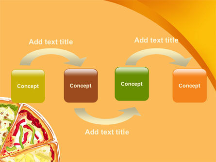 Pizza PowerPoint Template Slide 4