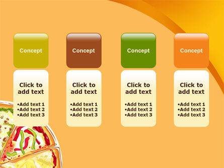 Pizza PowerPoint Template Slide 5