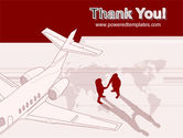 Business Class Air Travel PowerPoint Template#20