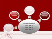 Business Class Air Travel PowerPoint Template#7