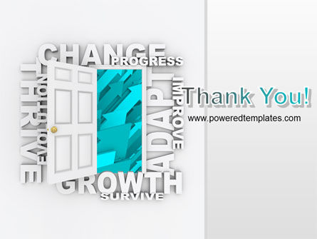 Improving Progress PowerPoint Template Slide 20