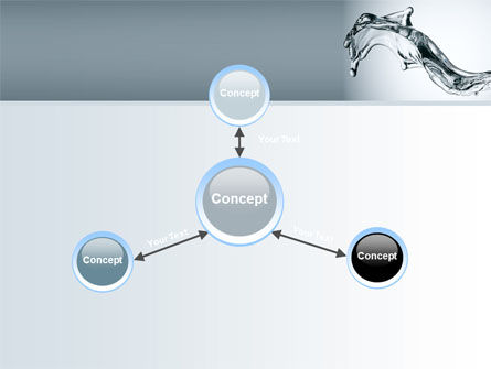 Fluid Splash PowerPoint Template Slide 14