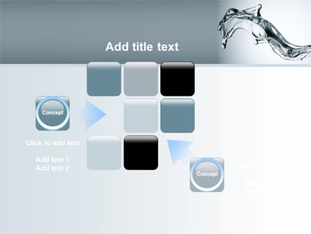 Fluid Splash PowerPoint Template Slide 16