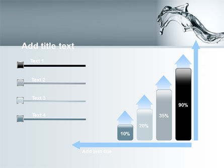 Fluid Splash PowerPoint Template Slide 8