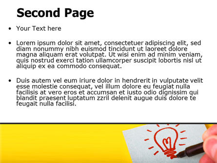 Alternative Illuminator PowerPoint Template Slide 2