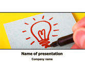 Consulting: Alternative Illuminator PowerPoint Template #07683
