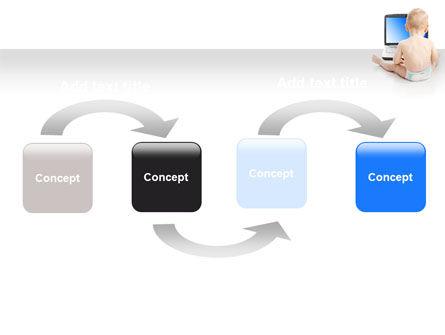 Child Computer Training PowerPoint Template Slide 4