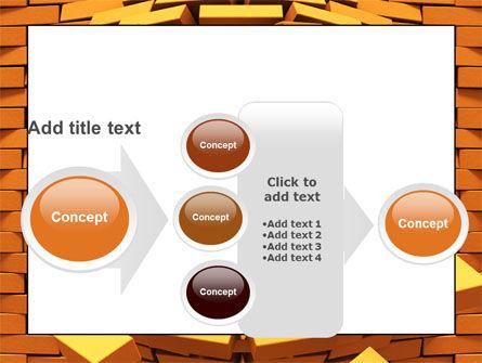 Broken Golden Wall PowerPoint Template Slide 17