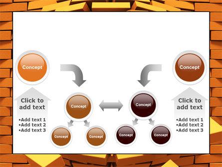 Broken Golden Wall PowerPoint Template Slide 19