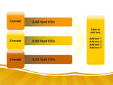 Smeared In Paint PowerPoint Template#12