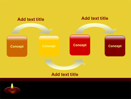 Candle PowerPoint Template, Slide 4, 07687, Religious/Spiritual — PoweredTemplate.com
