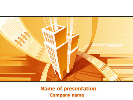 City Block Planning PowerPoint Template