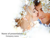 Holiday/Special Occasion: Spring Love PowerPoint Template #07690