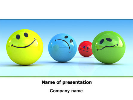 Emotions PowerPoint Template, 07692, Careers/Industry — PoweredTemplate.com